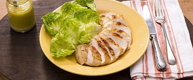 Dieta Frango com Salada