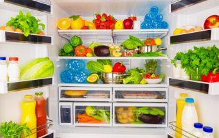 como armazenar o alimento