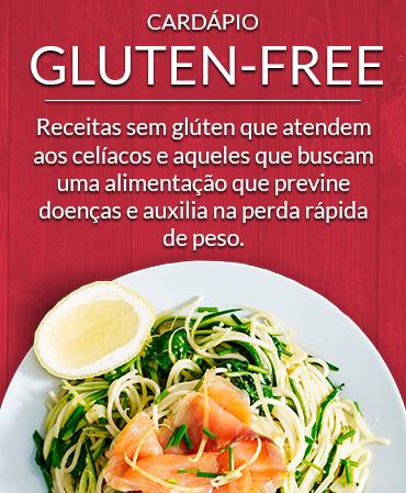 Cardápio Gluten-Free
