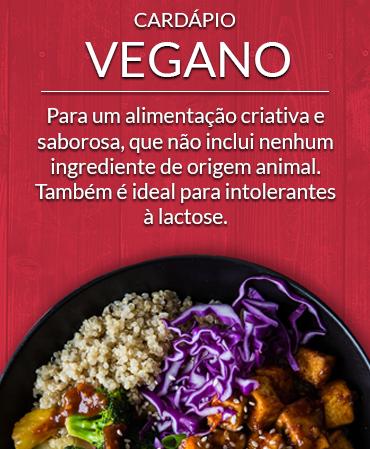 Cardápio Vegano