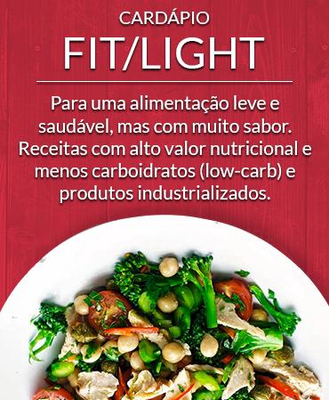 Cardápio Fit/Light