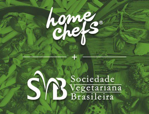 Home Chefs recebe selo da Sociedade Vegetariana Brasileira