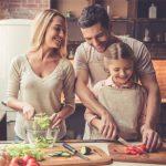 Ajuda da família - benefício do Cardápio Semanal