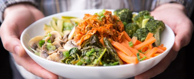Prato vegano e vegetariano